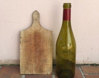 ANTIQUE VINTAGE FRENCH bread or chopping cutting board wood 284