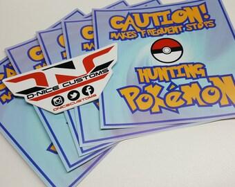 Pokemon GO Bumper Sticker
