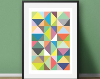 Abstract Art, Wall Art Print, Abstract Prints, Geometric Print, Abstract Digital Print, Modern Print, Modern Wall Art, Prints Wall Prints