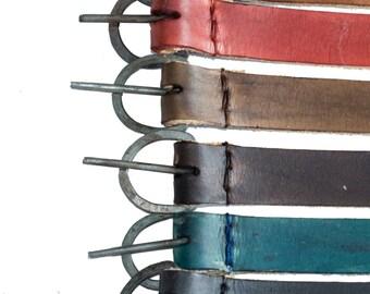 Leather VIKING BELT Medieval War Belt, Men's Leather Belt reenactment