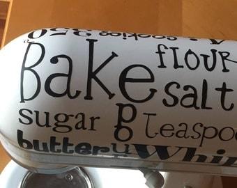Kitchen Aid sticker