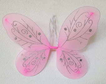 Pink Fairy Wings, Butterfly Wings