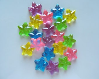 30 Pc. Little Stars Twinkle Twinkle Little Star Candies Cupcake Decorations Birthday Wedding Baby Favors Candy