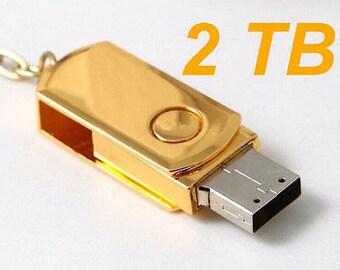2TB (2000) GB USB Flash drive