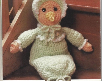 Baby Doll Crochet Pattern - Original Shipped USPS and PDF Emailed