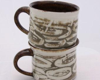 slip design mugs set of 2