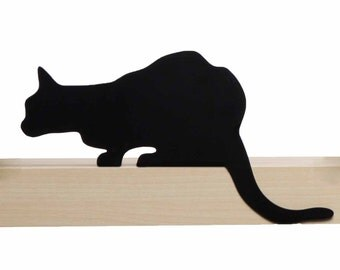 Cat's Meow - Churchill - decorative cat silhouette by Artori Design