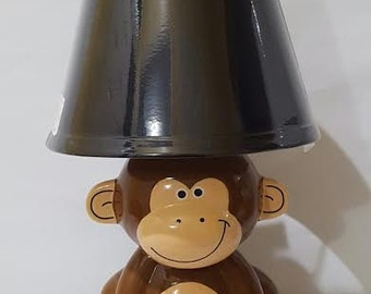My monkey lamp! Lol
