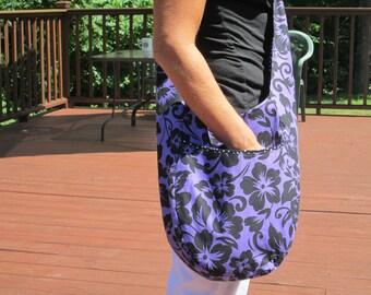 Purple Boho Bag