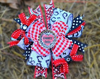 Cowgirl Country Hairbow