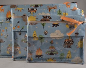 Organizational Pouch - Forest Critters