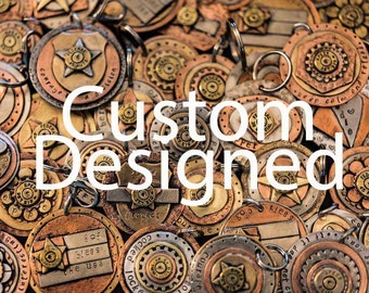 Custom designed tag