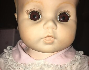 Porcelain Baby Girl Doll