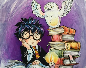 Harry and Hedwig Print