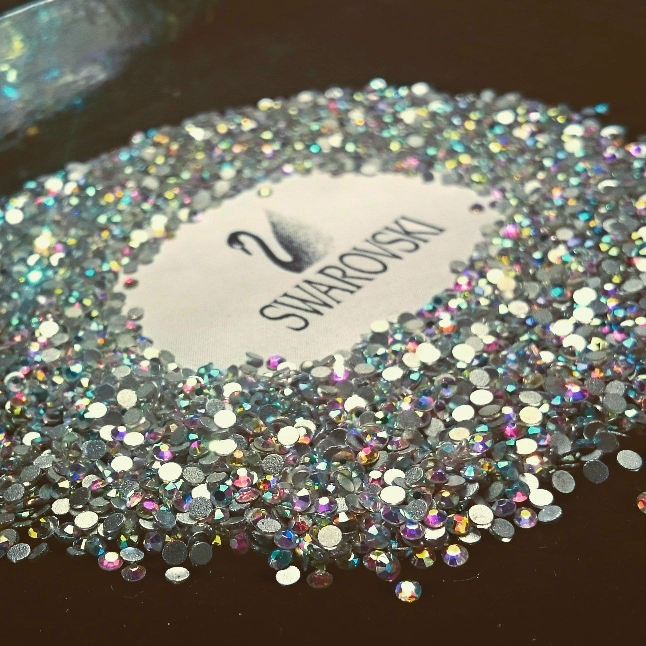 Swarovski crystals flat back stones gems rhinestones non for Crystal fall
