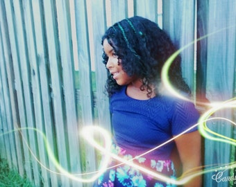 Diva Glitter Gel - Kiwi Limey [Hair Glitter Gel, Temporary Hair Color, Body Glitter, Highlights, Hair Jewelry, Accessories, Hair Bling]