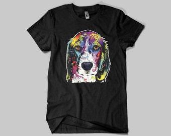 Neon Beagle, Dog T-shirts