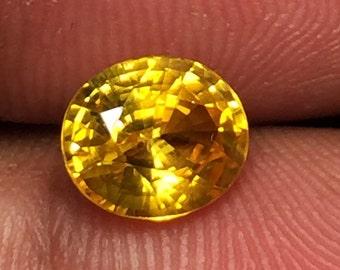 Ceylon Vivid Yellow sapphire