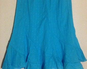 women cotton short skirt