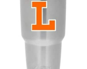 Lakeland High School Decal - LHS  Decal - Lakeland High School Yeti Cup Decal