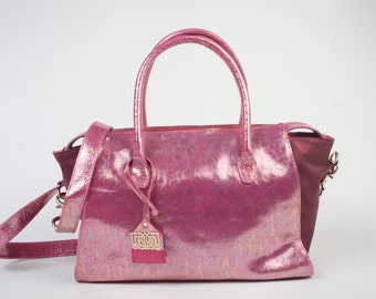PINK Dream handbag very feminine leather elegance to the French delivery available until 08/31/2016