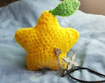 Amigurumi Paopu Fruit, Crochet Paopu Fruit, Crochet Kingdom Hearts