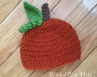 Crochet Pumpkin Hat
