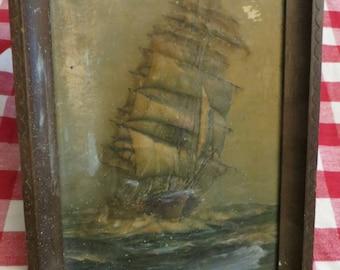 Nauticle Ship Art Old