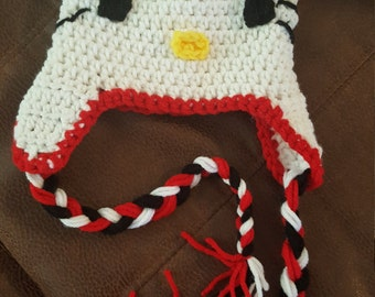 Hello Kitty Hat 3-6 mo