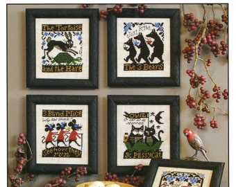 Fables & Tales by Prairie Schooler Counted Cross Stitch Pattern/Chart