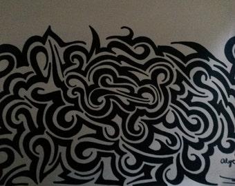 Custom Tribal Art