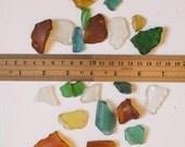 Mixed Genuine Taiwanese Sea Glass