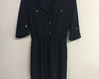 1970 Military Dress (Sz 10)