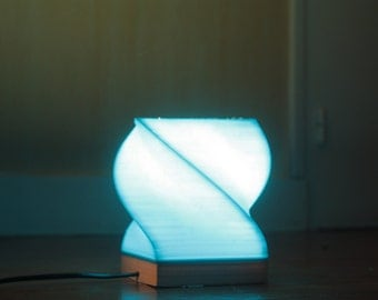 Phosphorescent light 3D printing