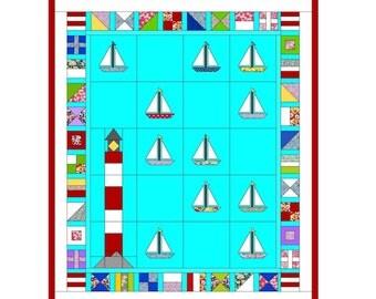 Regatta Quilt Pattern (Printed)