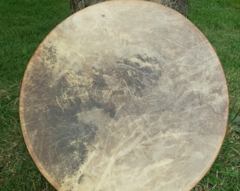 16 inch shamanic red deer drum