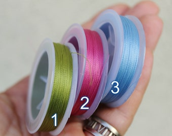 Wire TYTAN 100. Polyester, 0.10 mm for 100 meters