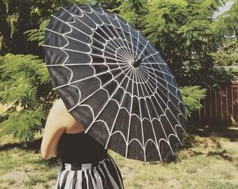 Spider Web Parasol