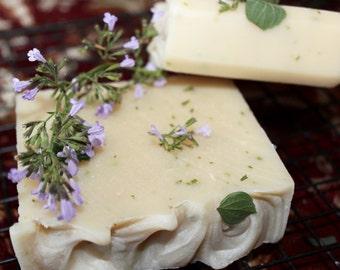 Mojito Lime Mint Coconut Milk Vegan Handmade Soap