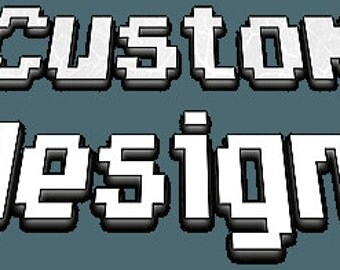 Custom Cross Stitch Badge