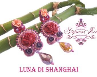 SHANGHAI MOON-earrings