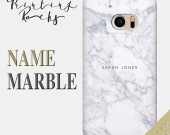 Custom Name Marble HTC Case Personalised Marble HTC Case Custom HTC 10 Case Custom Htc One M8 Case Custom One M9 Case Htc Desire 626 Case 14