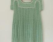 Green crochet c. 1945