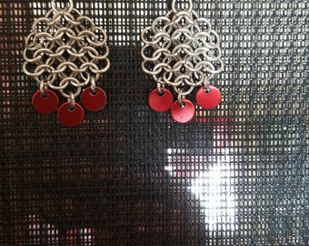 Chainmail earing
