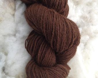 Natural Alpaca Yarn - Handspun