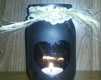 Mason Jar Votive Candle