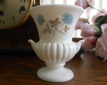 Wedgwood Ice Rose Bud Vase