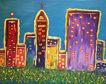 Child's Play Cityscape