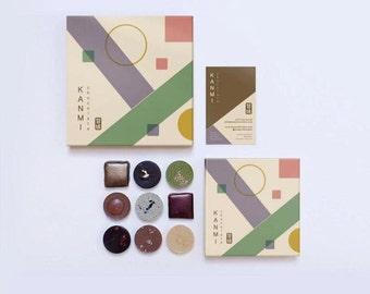 KANMI Chocolate -  Asian Inspired Artisan chocolates Box of 16