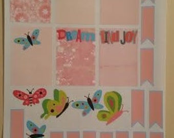 Happy Planner Butterfly  Planner Stickers Set of 24